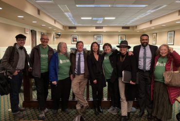 California Public Banking Alliance at the State Assembly Joint Public Banking Hearing