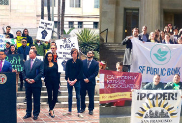 California Public Banking Alliance Press Release: Santiago and Chiu Introduce AB 857 to Pave Way for Public Banks