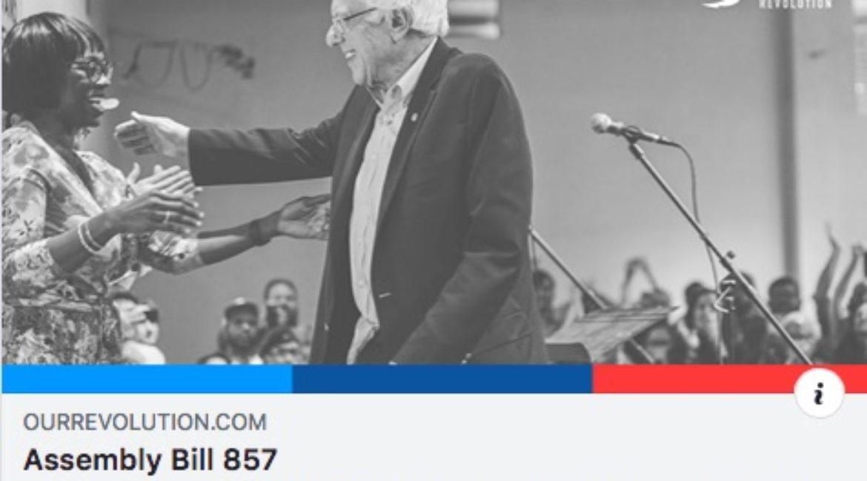 Our Revolution Endorses AB 857!