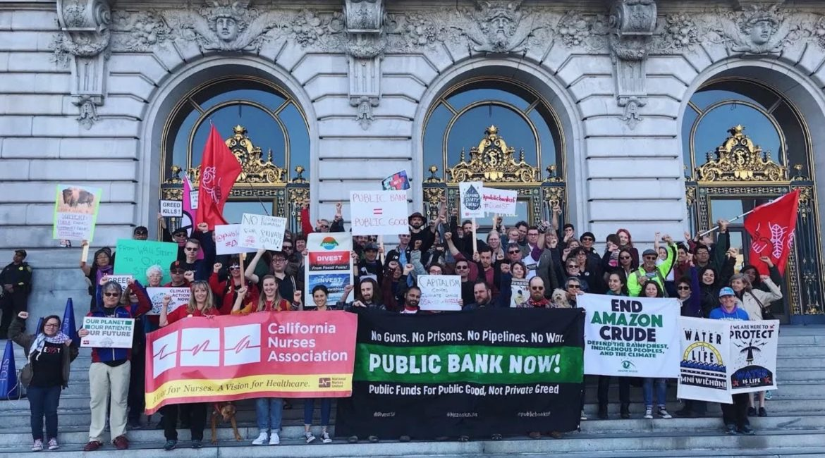 THE PEOPLE V WALL STREET: CALIFORNIA'S PUBLIC BANKING SHAKE-UP